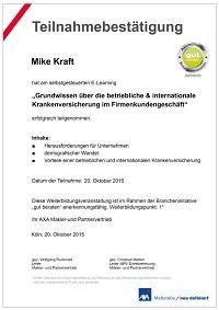 Grundwissen über die betriebliche & internationale Krankenversicherung im Firmenkundengeschäft